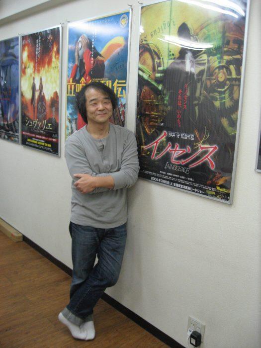 Mamoru Oshii photographed by Judit Kawaguchi in Tokyo