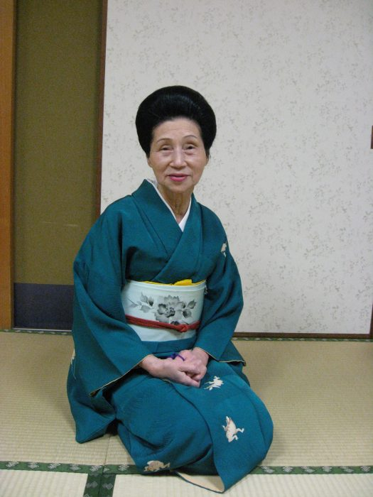 Geisha Chikako Pari, photographed by Judit Kawaguchi