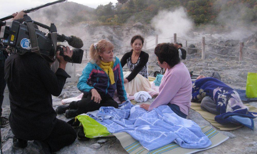 Judit at Akita's healing onsen resorts
