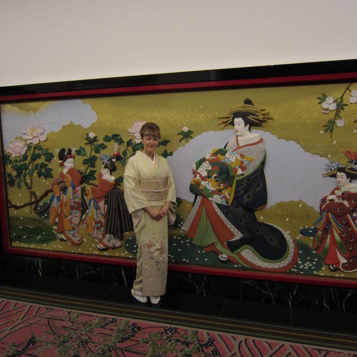Judit Kawaguchi at Tokyo's Gajoen