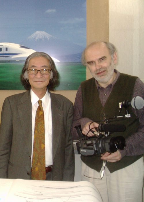 Japanese shinkansen designer Tezeni Masamichi & filmmaker Radovan Tadic