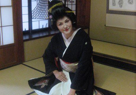 Judit as Geisha