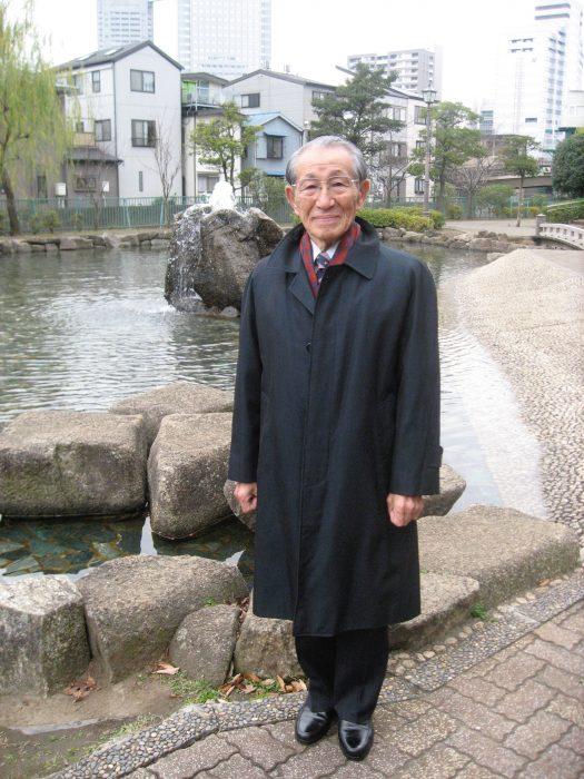 Onoda Hiroo, photographed by Judit Kawaguchi